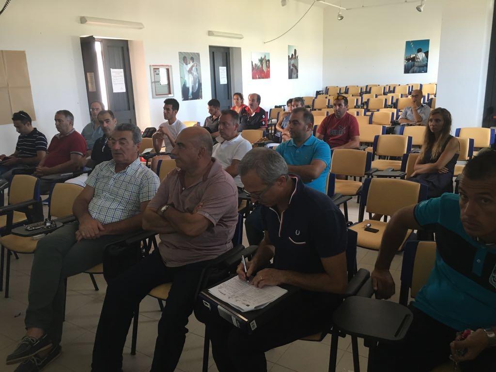 Cabras, 05.08.2016 - Incontro di programmazione partecipata