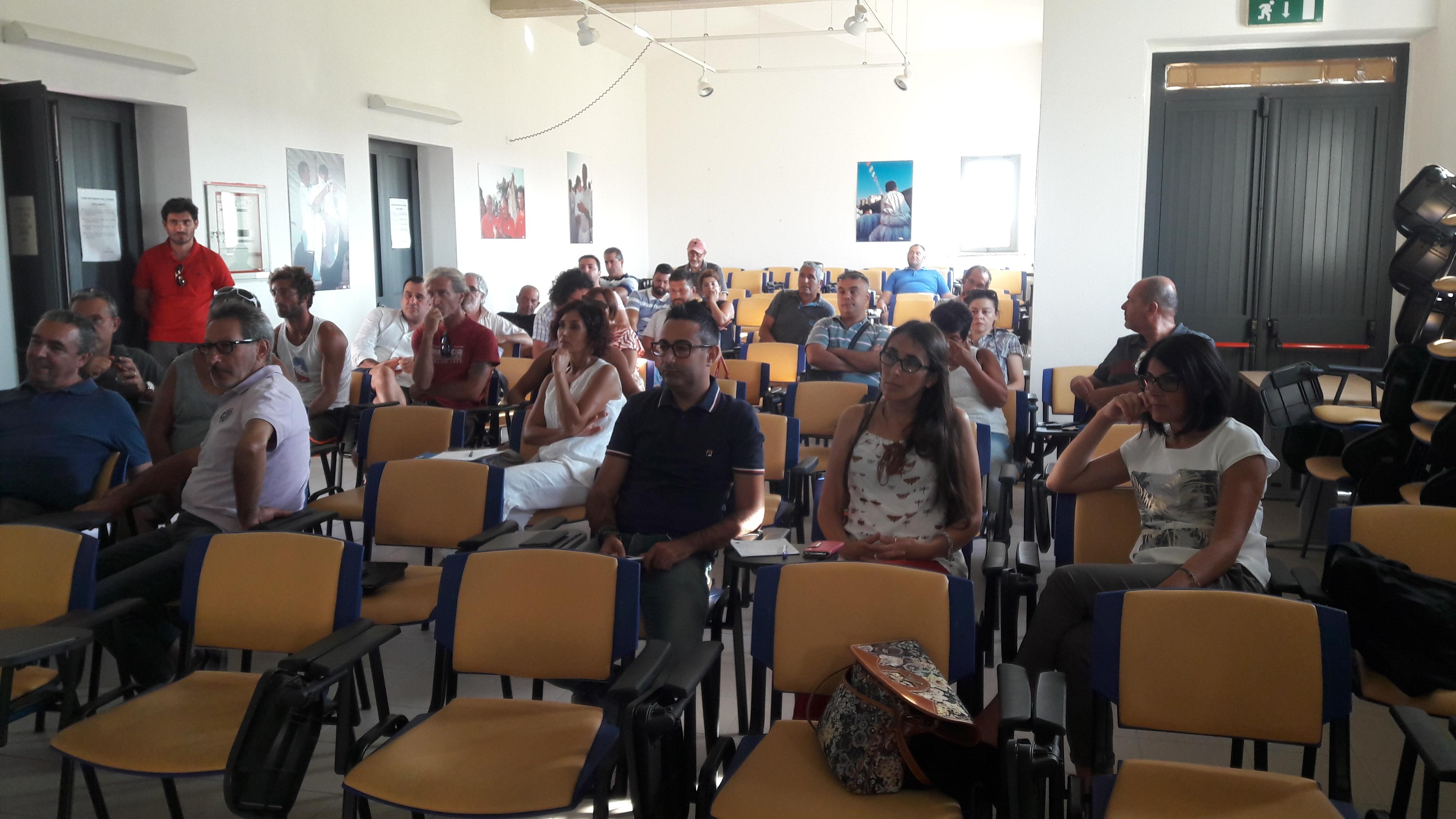 Cabras, 25/08/2016 - Sintesi risultati raggiunti e avvio riflessione su tematismi e strategie per lo Sviluppo Locale