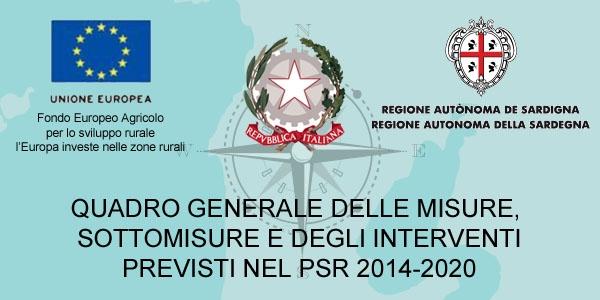 Misure PSR 2014-2020