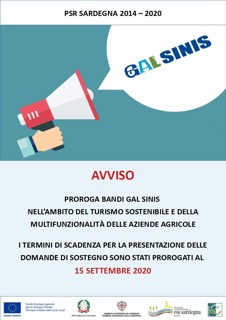PSR Sardegna 2014-2020 | Proroga scadenza bandi al 15 settembre 2020