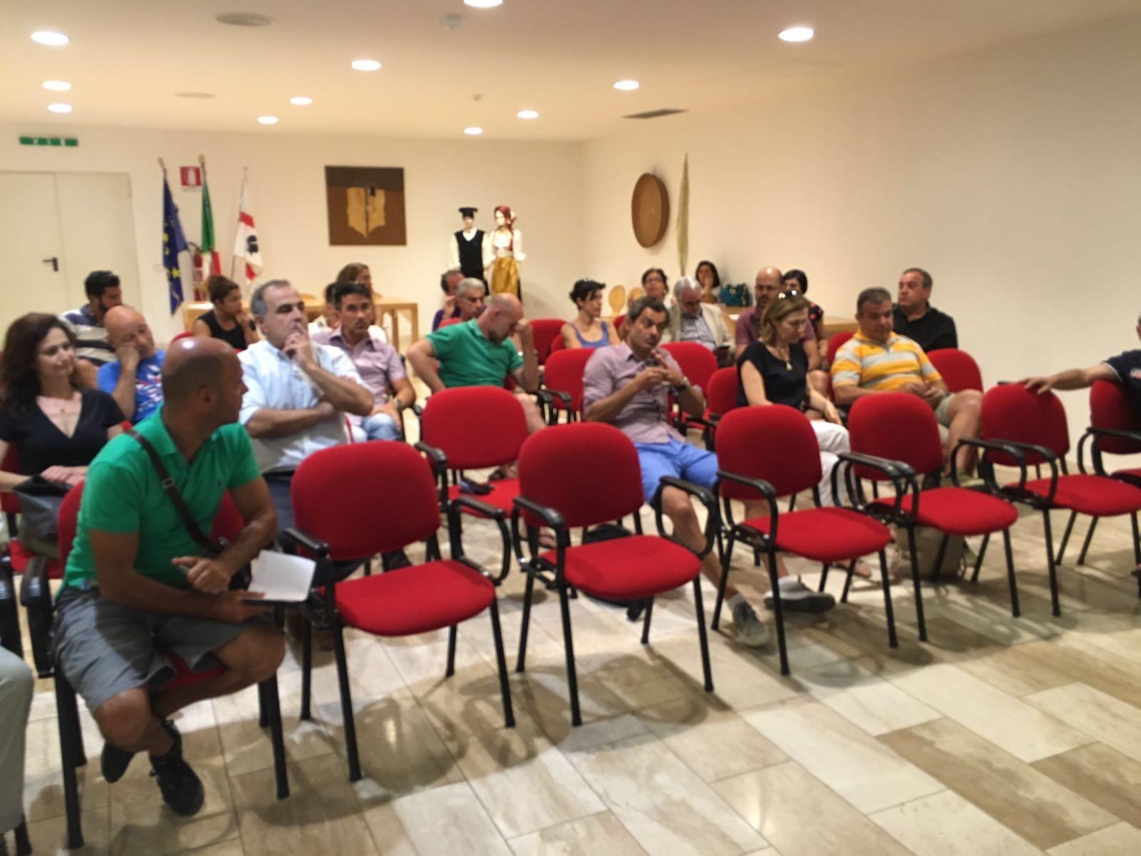 San Vero Milis, 08.08.2016 - Incontro di programmazione partecipata